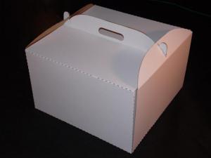 Pudełko na tort wysoki 32*32*20 oraz 35*35*20