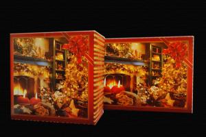 Pudełka świąteczne 'Kominki'