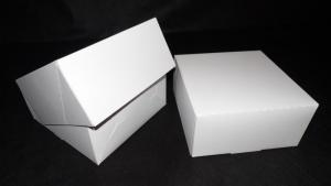 Pudełka jednoczęściowe na torty bez druku bez okienka