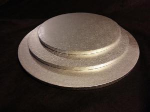 Podkłady angielskie pod torty okrągłe pod torty grubość 1,3 cm