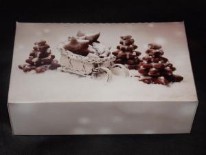 Pudełka świąteczne na ciasto 'Zimowe pierniki'