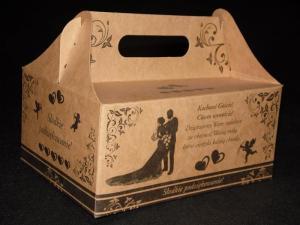 Pudełka weselne 'Eco'