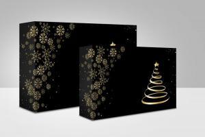 Pudełka świąteczne na ciasto 'Choinka'